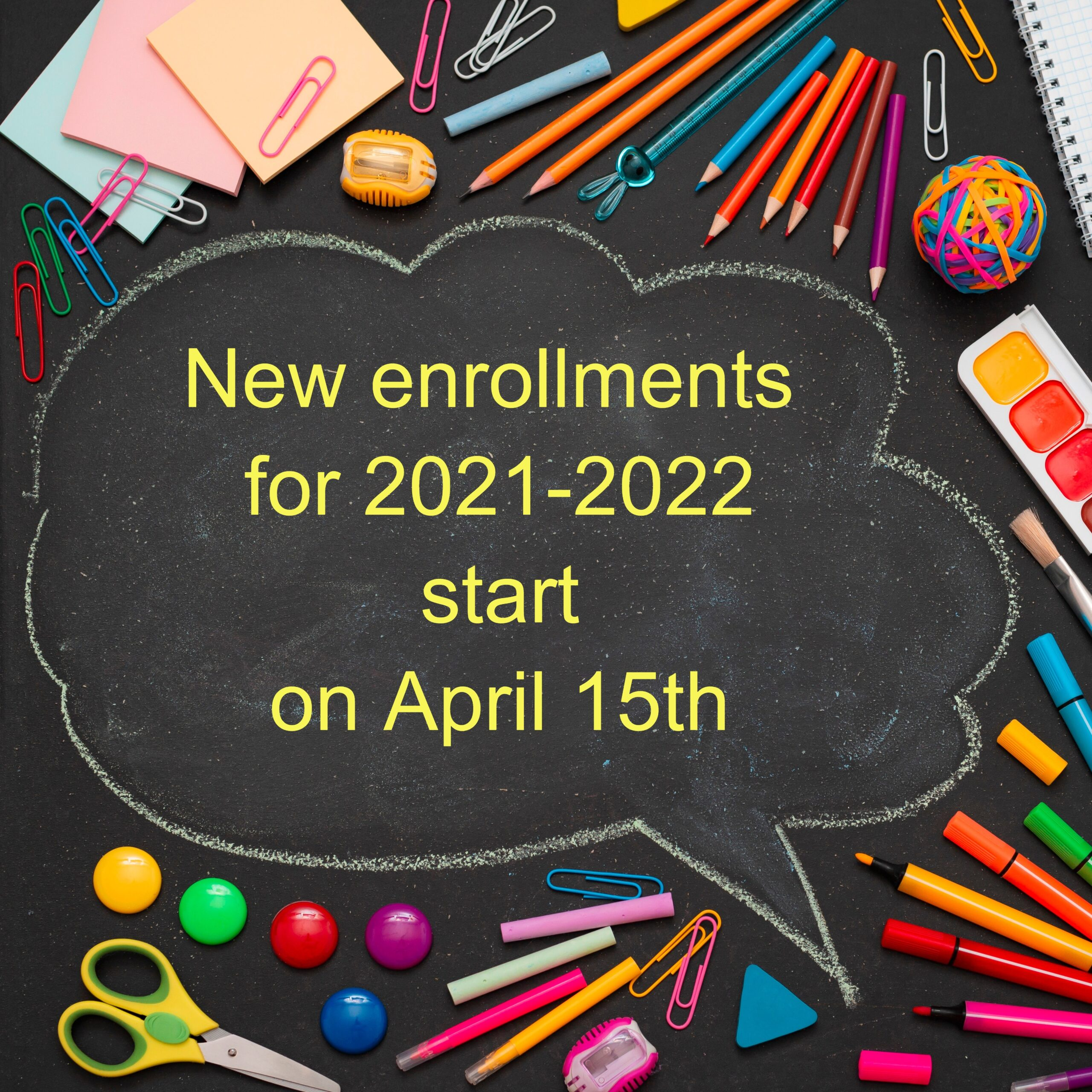 new enrollments